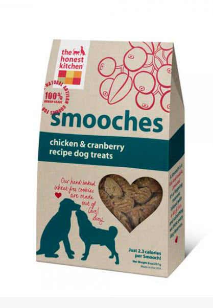 The Honest Kitchen Smooches Cookies Treats for Dogs