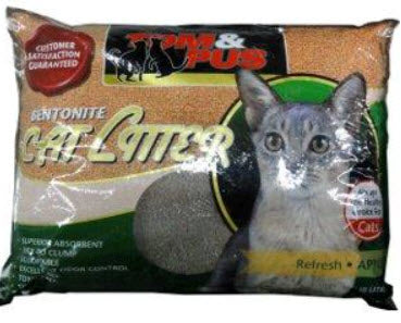 Tom And Pus Bentonite Cat Litter Apple Scent