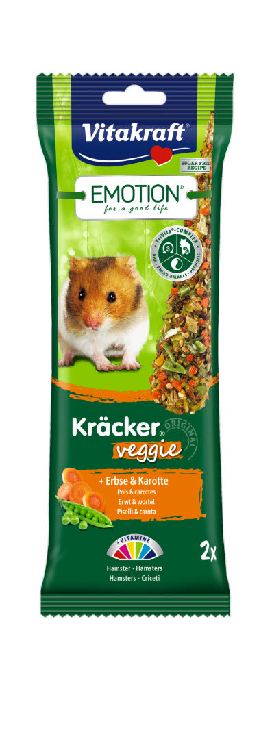 VitaKraft Emotion Kracker Veggie Hamster Snack