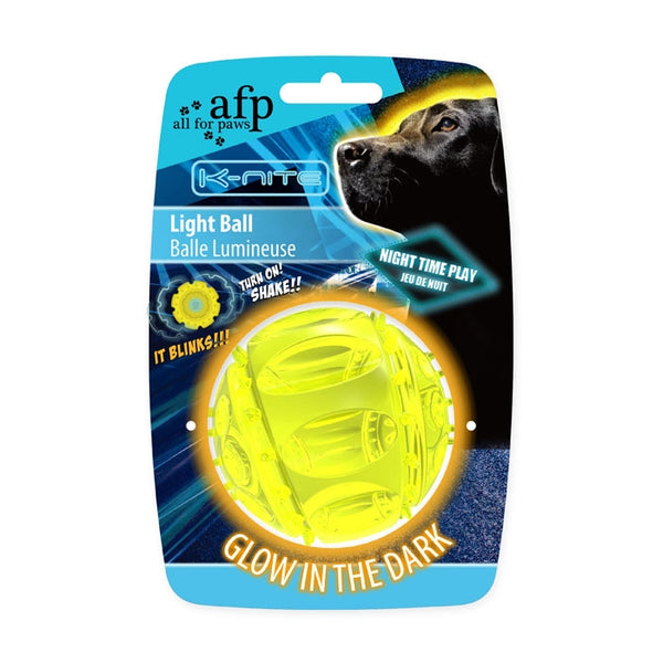 All for Paws AFP Light Ball Toy for Pets