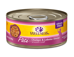 Wellness Complete Health Chicken & Lobster Pate Canned Cat Food
