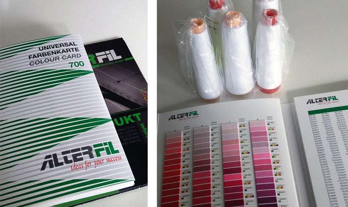 OUR BEAUTIFUL ALTERFIL COLOUR CARD HAS ARRIVED