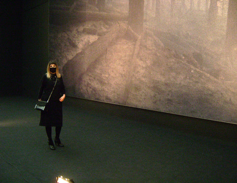 atelierixtys black 2piece wool dress day out gallery exhibition museums art sofia bulgaria