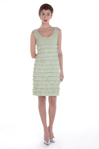 00125 MARIE ANTOINETTE powder green dress