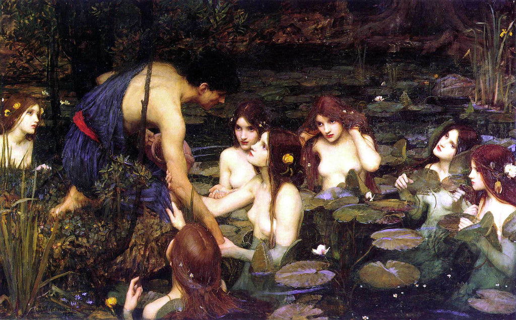 waterhouse painting