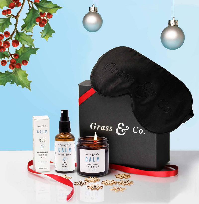 The CALM Christmas Gift Set | Grass & Co.