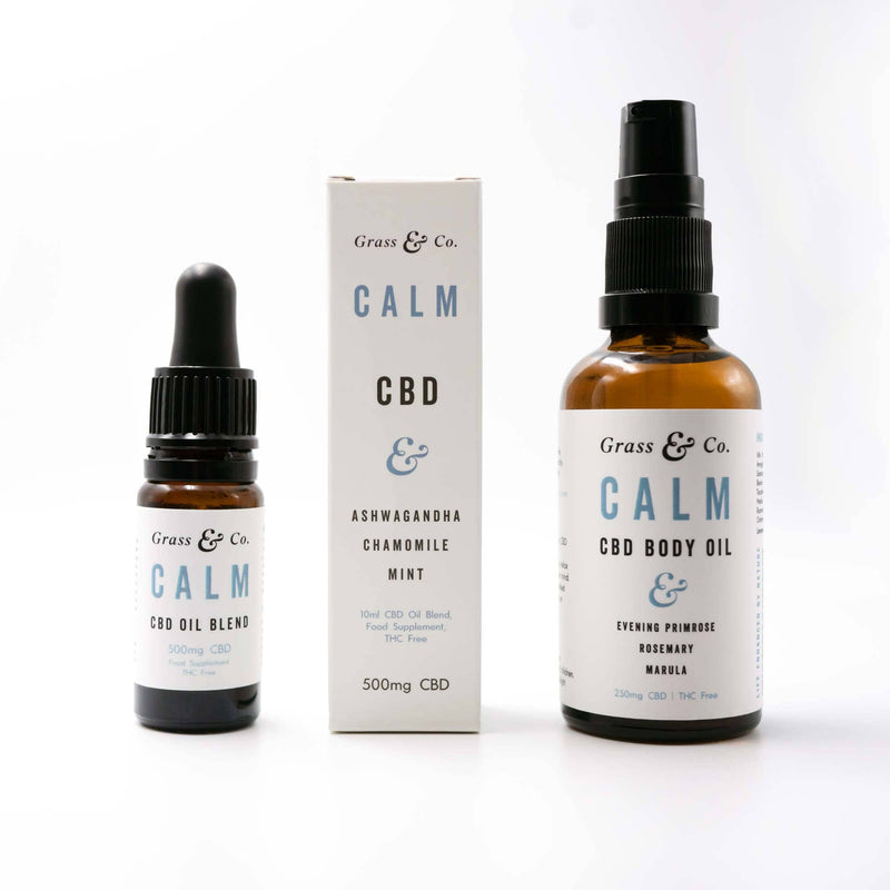 CALM CBD Daily Essentials Set | Grass & Co.