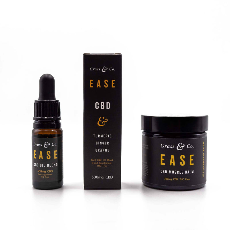 EASE CBD Daily Essentials Set | Grass & Co.