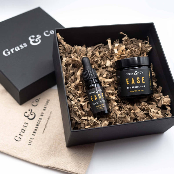 EASE CBD Daily Essentials Set - Grass & Co.