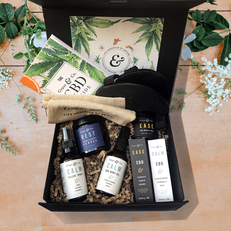 Grass & Co. Ultimate Luxe CBD Gift Set