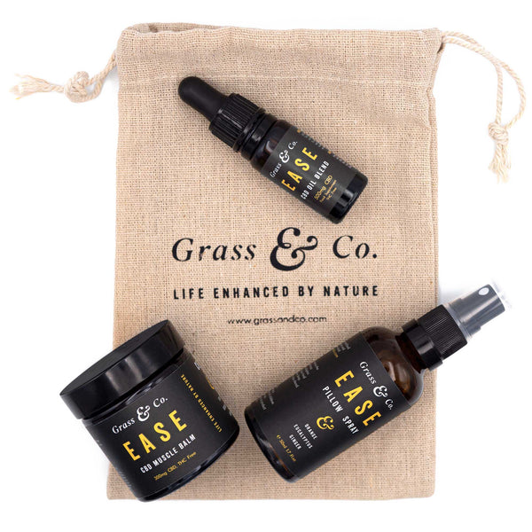 CBD & Yoga Kit - Grass & Co.