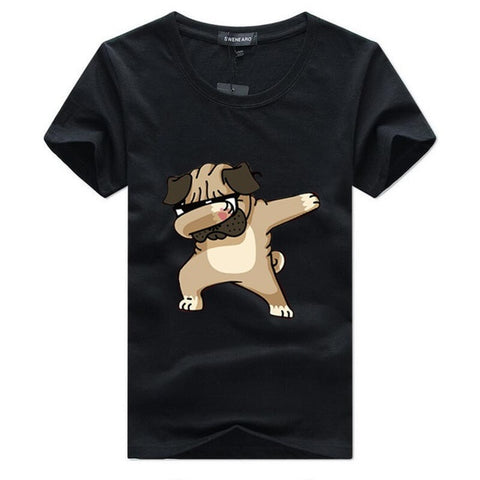 Dabbing Pug T-Shirt Men