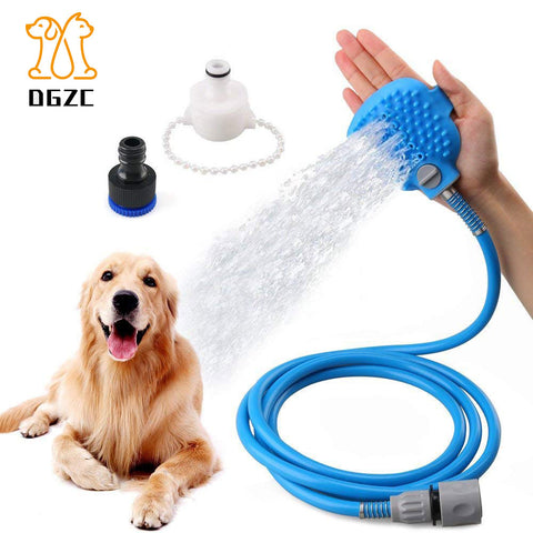 Dog Bathing Tool Cleaning Washing Bath Sprayers Masager