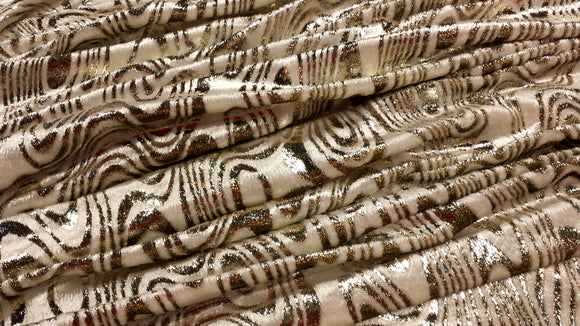 French Silk Velvet & Lurex