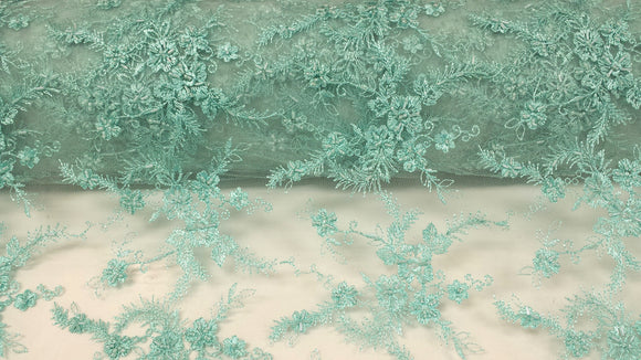 Scalloped Beaded Lace