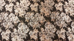 Metallic Floral Brocade