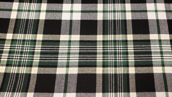 Plaid Wool/Cashmere Coating