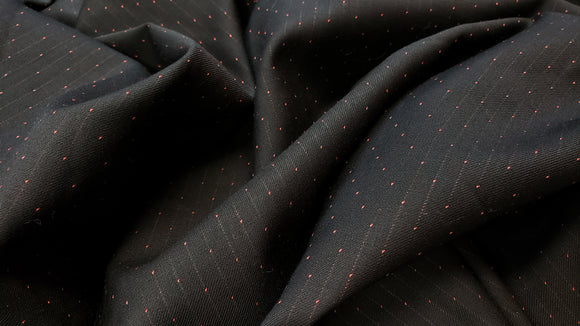 Pindot Wool Suiting