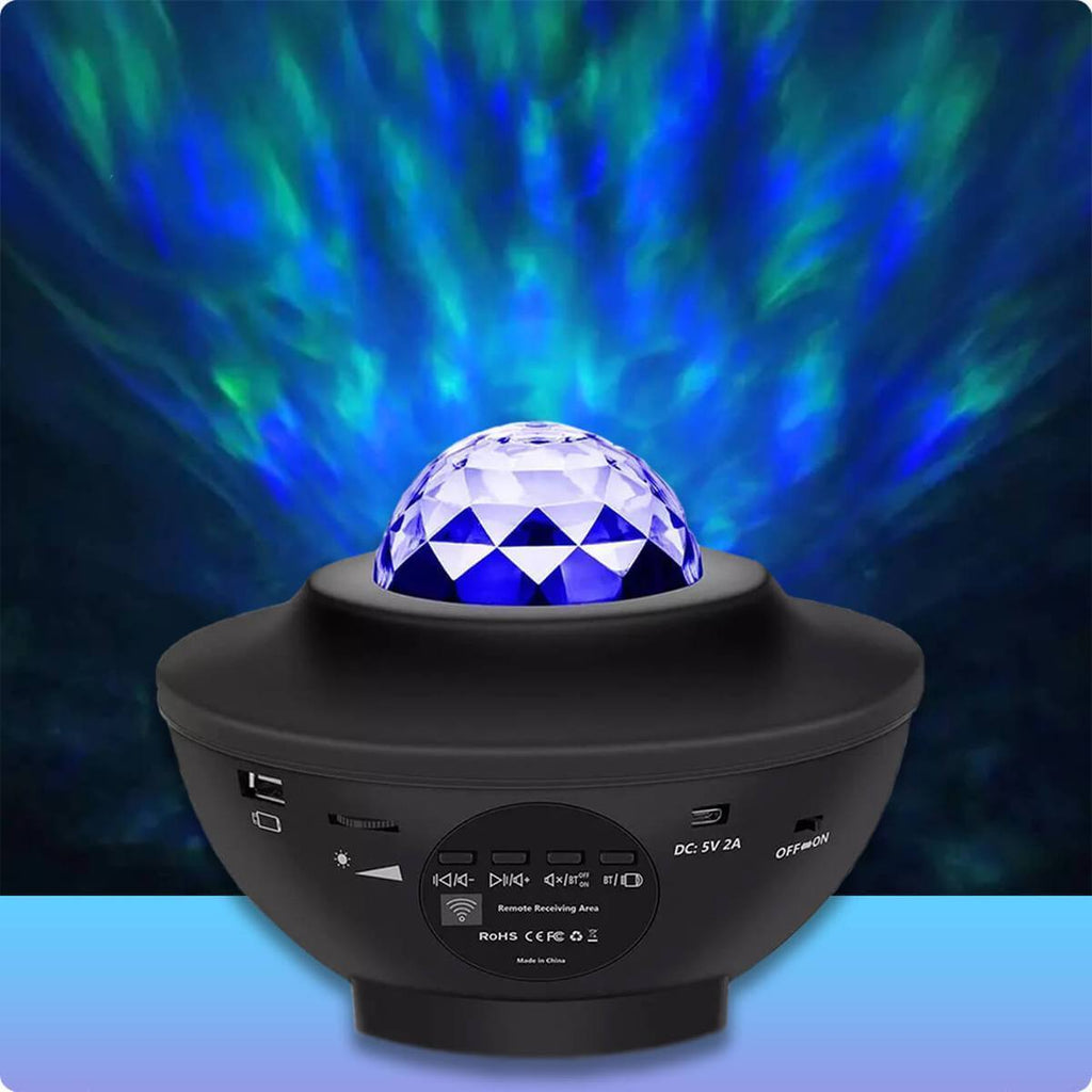 Galaxy Projector Xeno Designs Black