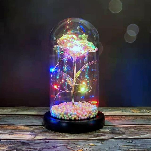 Galaxy Rose LED Fairy Lamp Xeno Designs