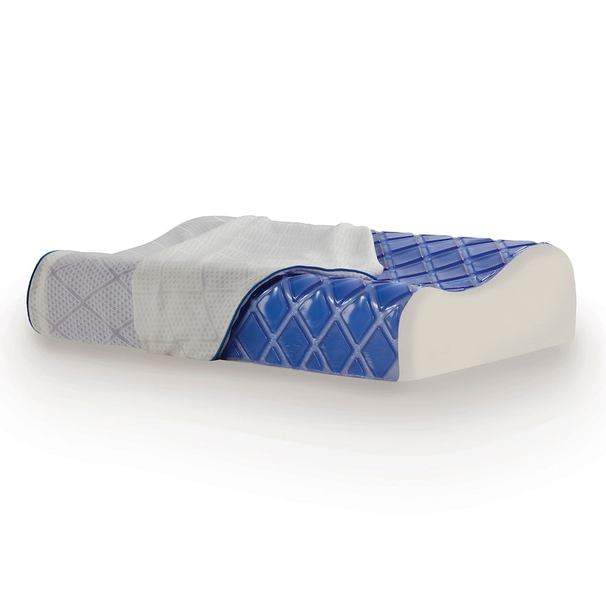 Sealy Cooling Gel & Memory Foam Contour Pillow