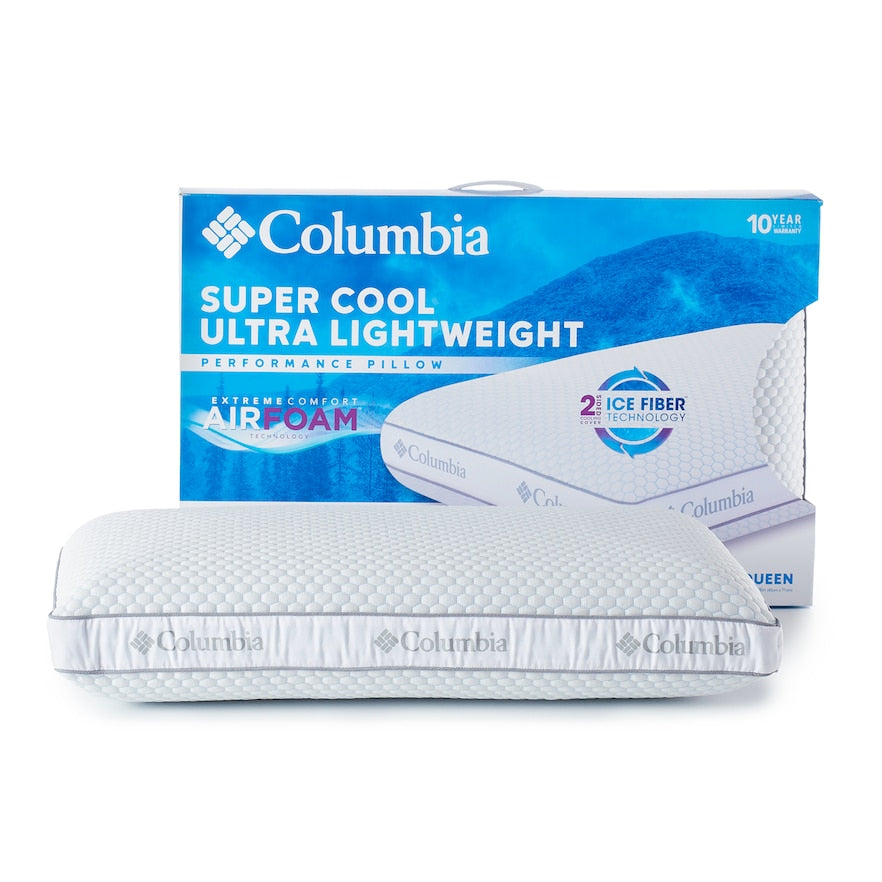 Columbia Super Cool AirFoam Performance Pillow