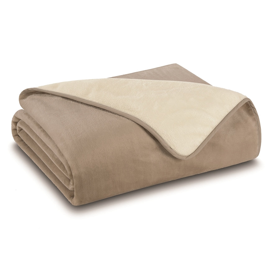 Grand Collection Reversible Plush Blanket
