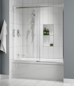 Apollo In-Lıne Sliding Tubs Chrome