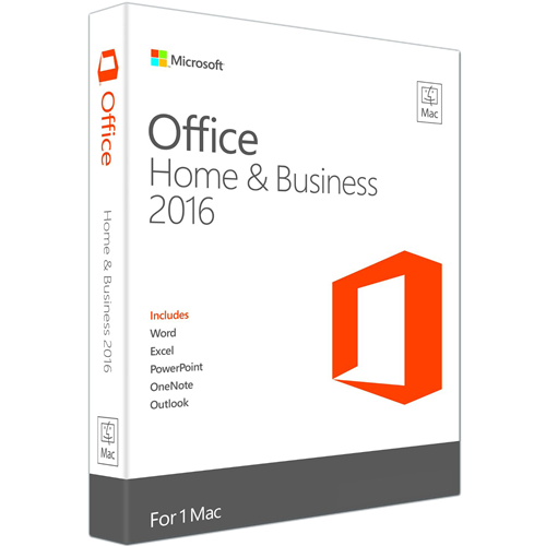 Microsoft Office 2016 Home & Business for MAC - Martsoftware