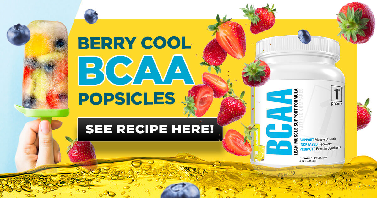 Berry Cool BCAA Popsicles