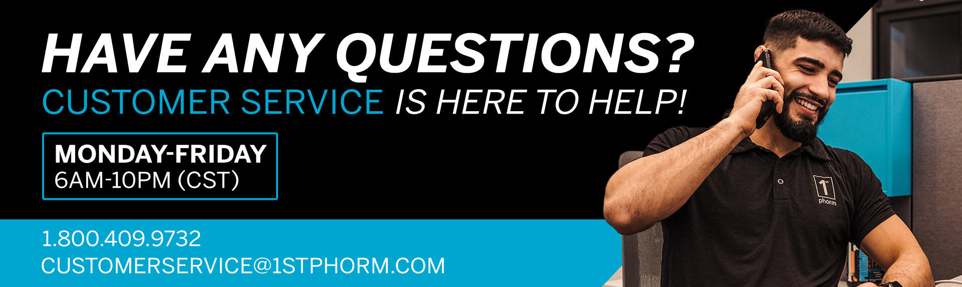 Customer Service - 1st Phorm