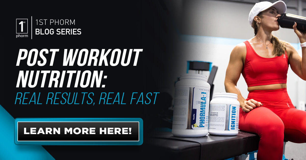 Post-Workout Nutrition: Real Results, Real Fast