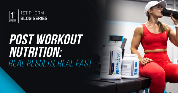 Post-Workout Nutrition: Real Results Real Fast