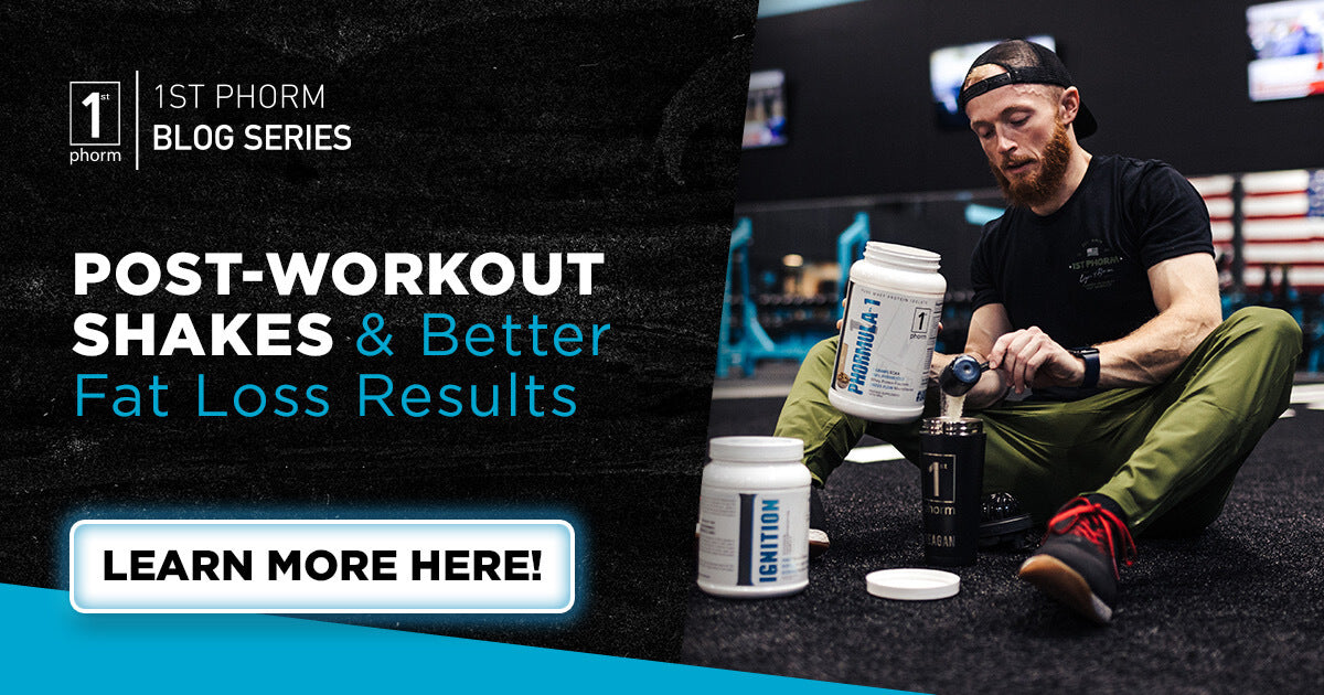 Post-Workout Shakes & Better Fat Loss