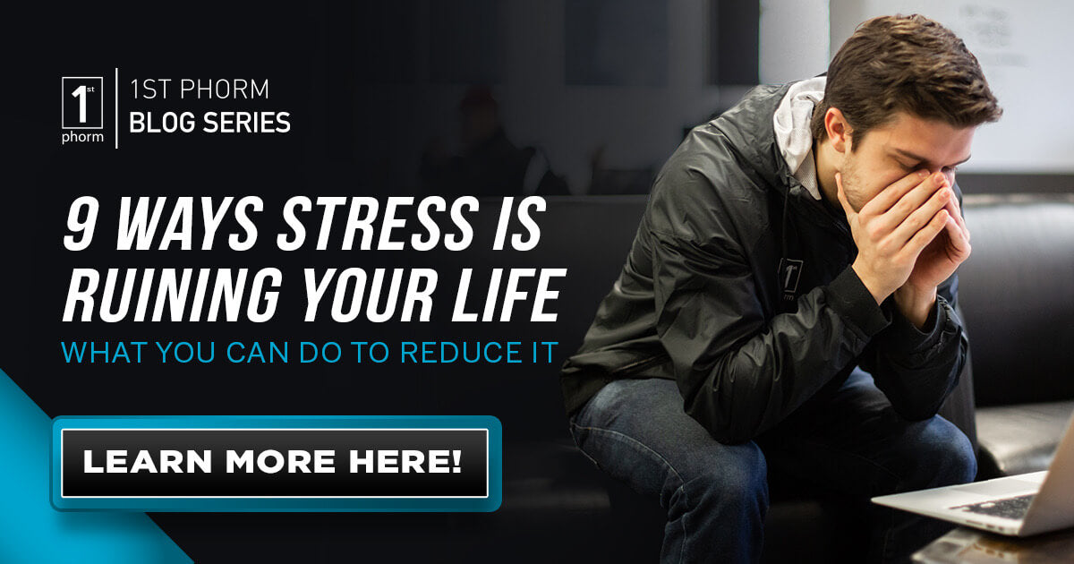 9 Ways Stress is Ruining Your Life