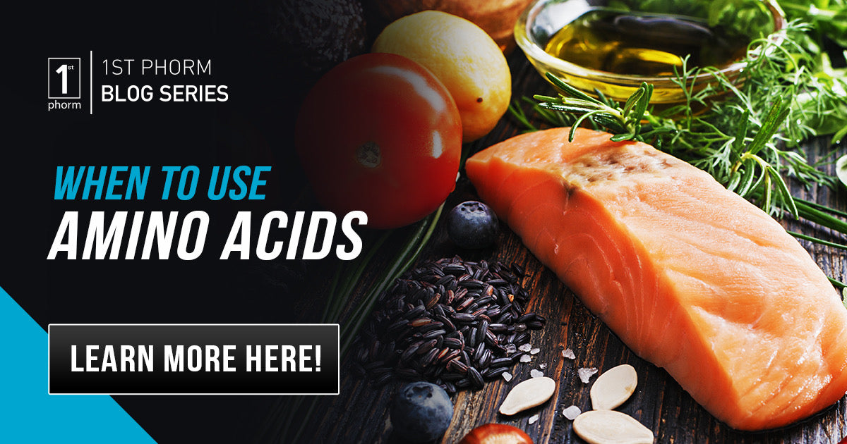 When to use amino acids