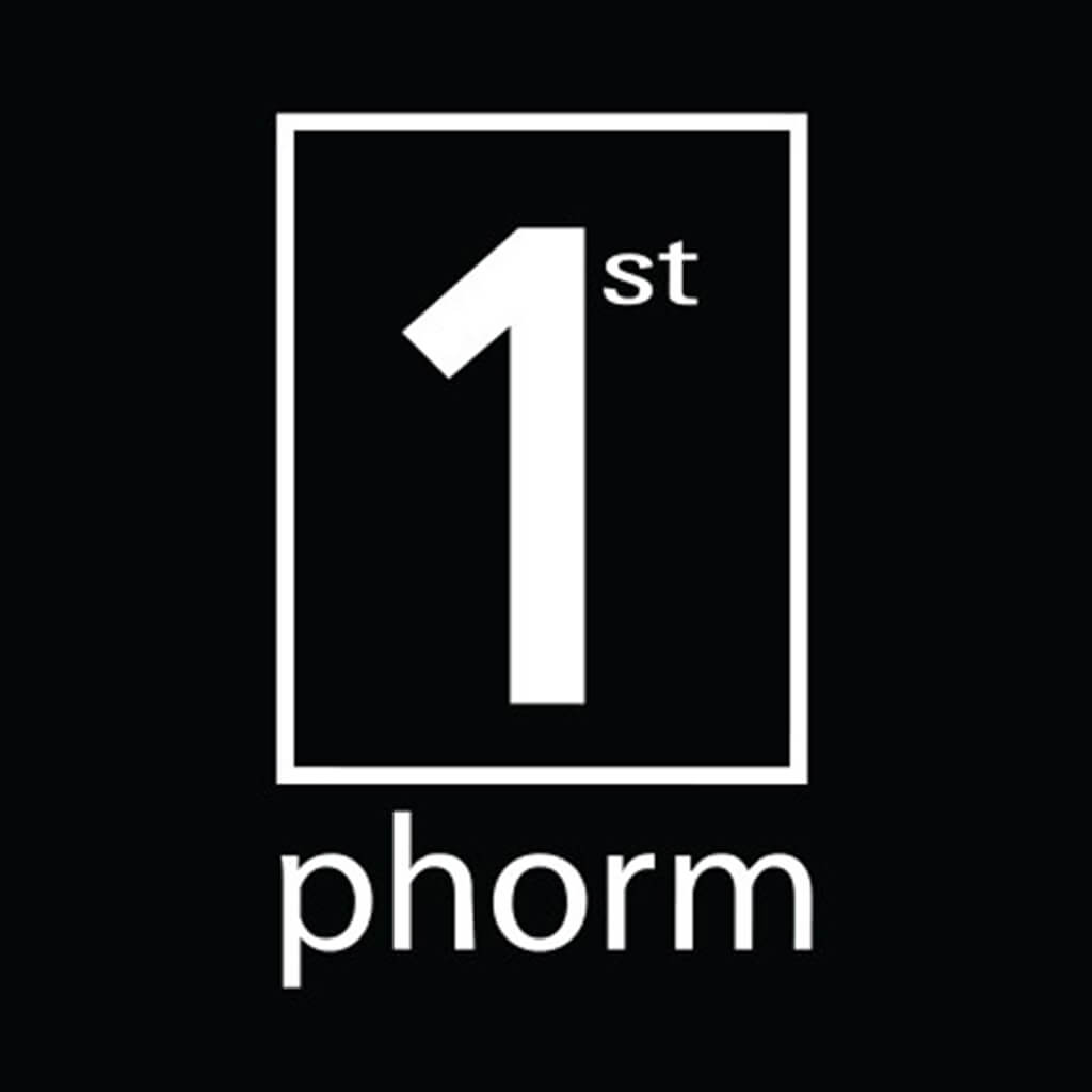 "1st Phorm Decal White (2.5"" X 4.25"")"