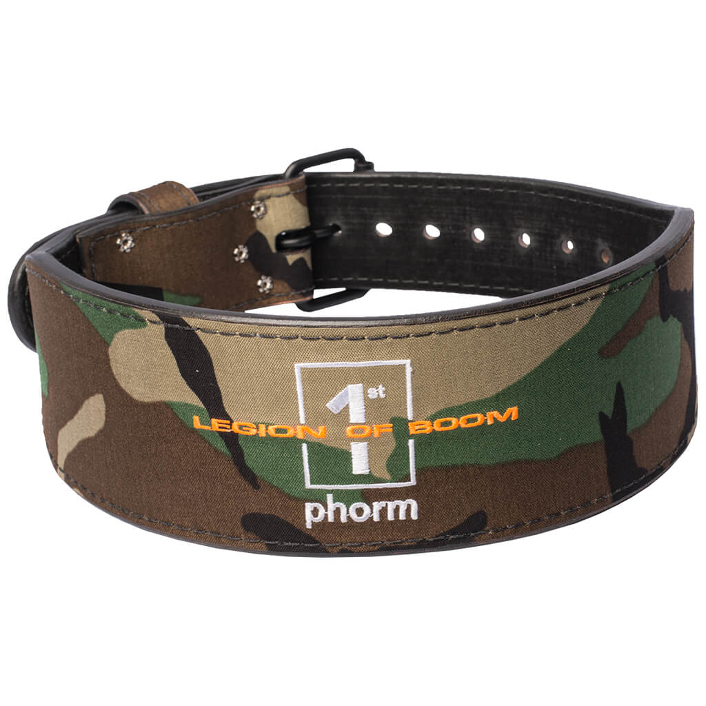 Camo LOB Lifting Belt