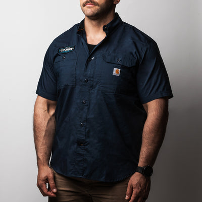 1P Blue Collar Proud Carhartt Work Shirt