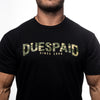 Men's Dues Paid Camo Tee