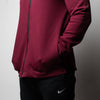 Men's 1P Nike Dry Showtime Full Zip Hoodie - Maroon