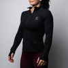 Women's Performance Running Jacket - Black