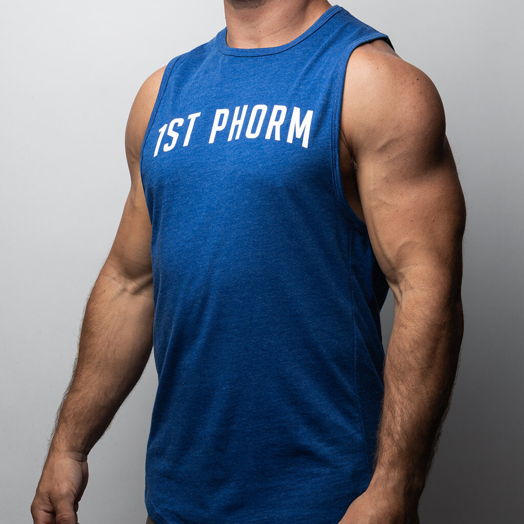 Men's Arch 1st Phorm Muscle Tank - Royal Blue