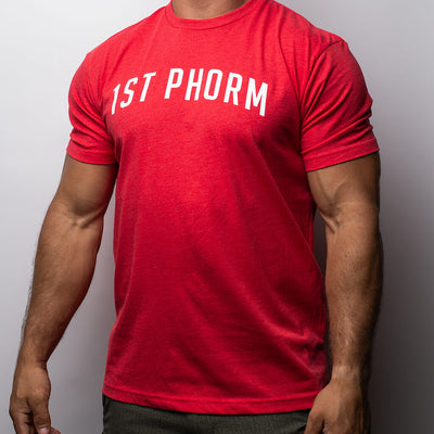 Men's Arch 1st Phorm Tee - Red
