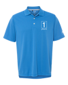 Caddyshack 1P Golf Shirt - Neon Teal