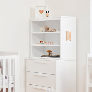 Bebe Care Letto Modular Bookcase – White