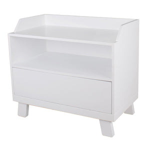Bebe Care Casa Toy Box With Seat – White