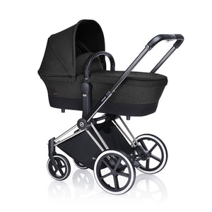 Cybex Priam Carry Cot - STARDUST BLACK