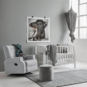 Bebe Care Chester Rocking Chair – Silver