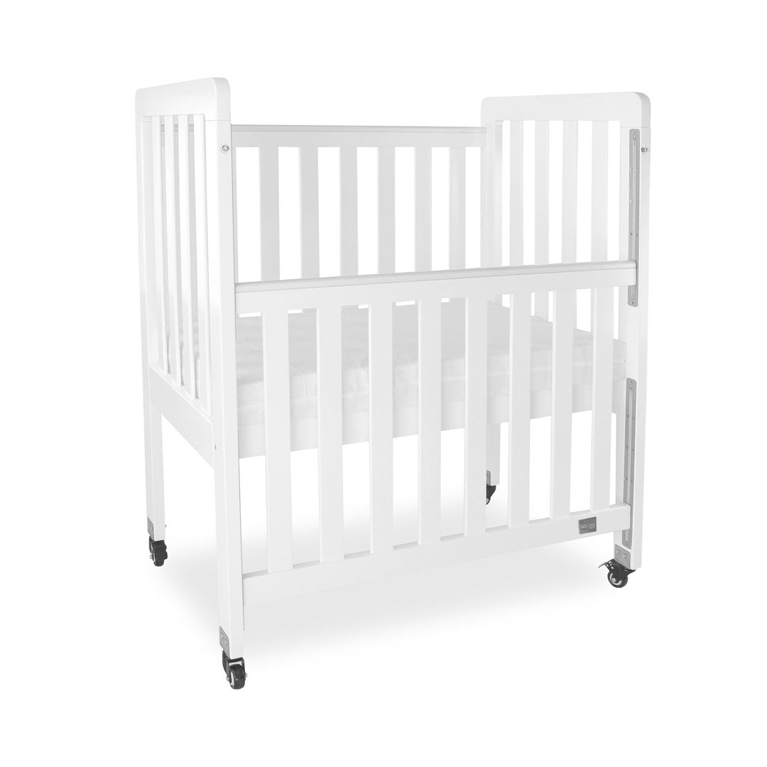 Mini Ergonomic Cot - White